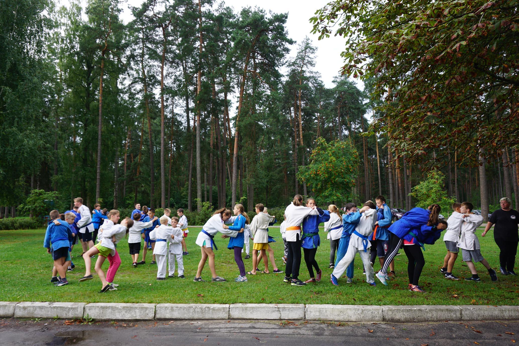 DSC09025-Тренировка в санатории Жуковский